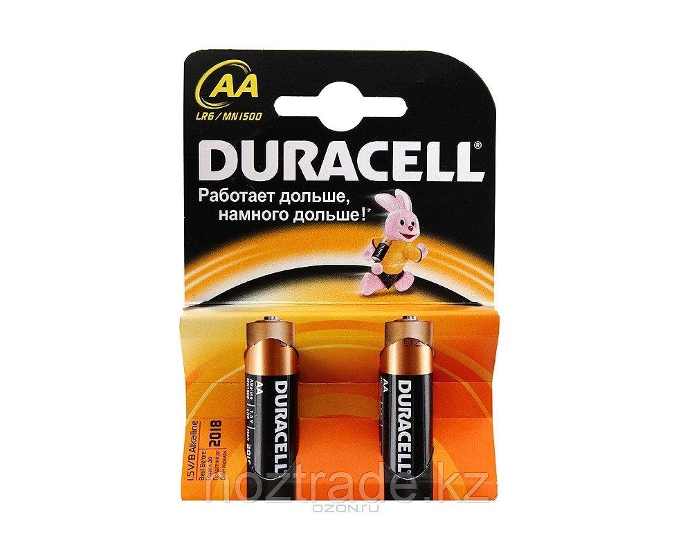 Батарейка АА Duracell 2 шт (пальчиковая)