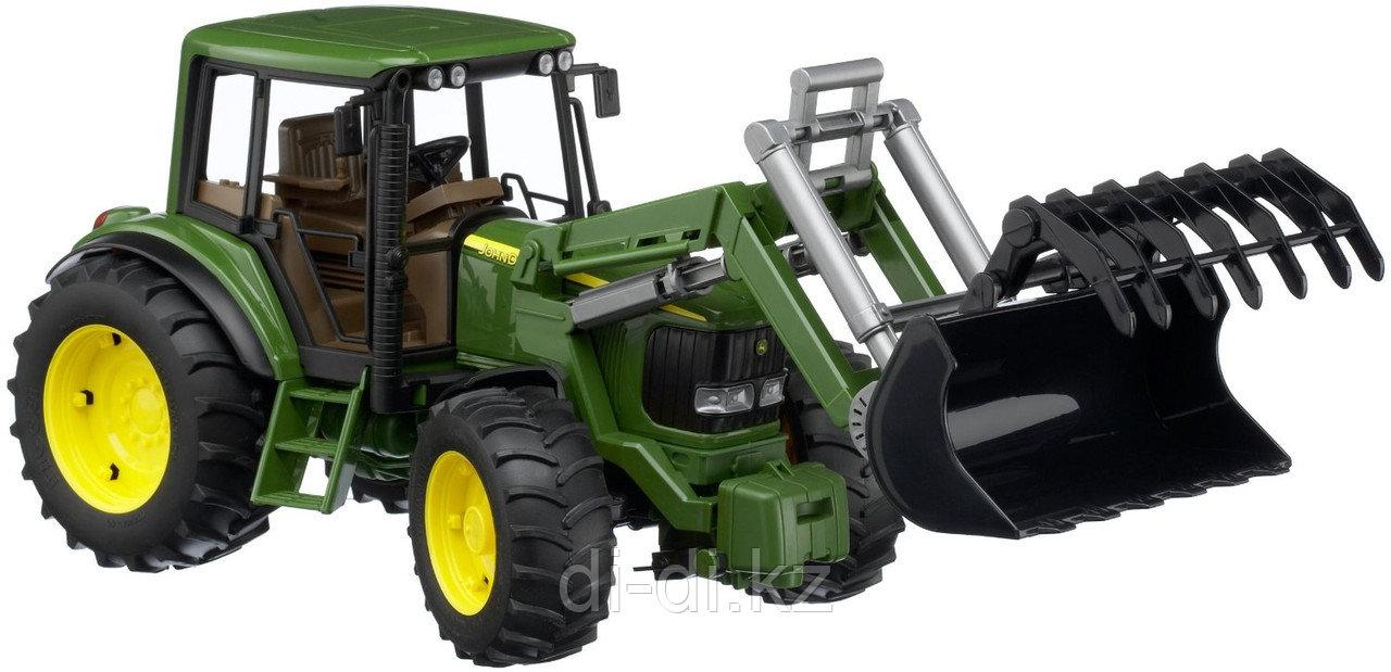Игрушечный Трактор John Deere 6920 с погрузчиком, Модель 1:16