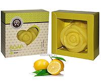 Натуральное мыло с эфирным маслом Лимона, 120 г