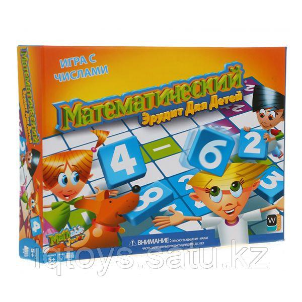 Mathable 5006 Настольная игра Математический Эрудит для детей