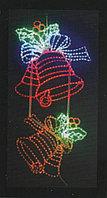 Вертикальное световое панно на опоры Колокола 150*75 см