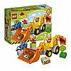 Lego Duplo Экскаватор-погрузчик