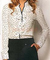 Блузка с воланом