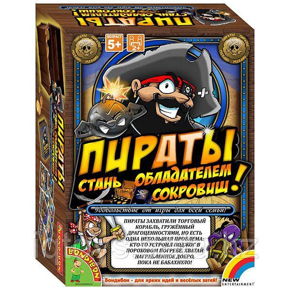 "Настольная игра ""Пираты"" Bondibon"