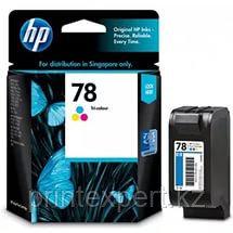 Картридж струйный HP №78 Tri-color