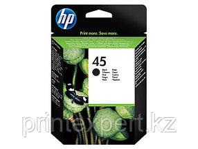 Картридж струйный HP №45 Black