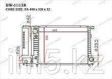 Радиатор  BMW Series 3. E36 1990-1999 1.6i / 1.8i / 2.0i / 2.3i / 2.5i Бензин