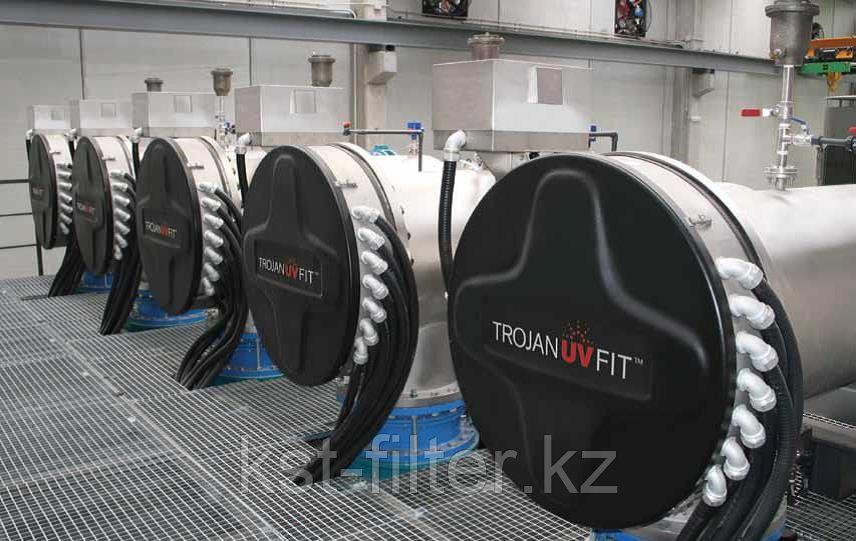 Обеззараживания воды для муниципальных нужд и различной промышленности