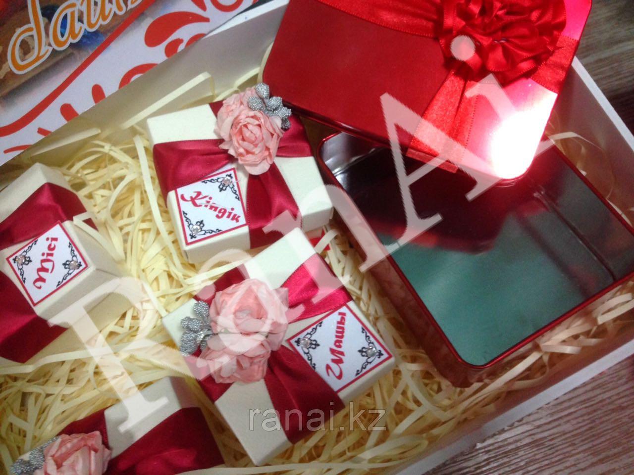 Набор коробочек Мамины сокровища,Анасының байлығы - фото 4