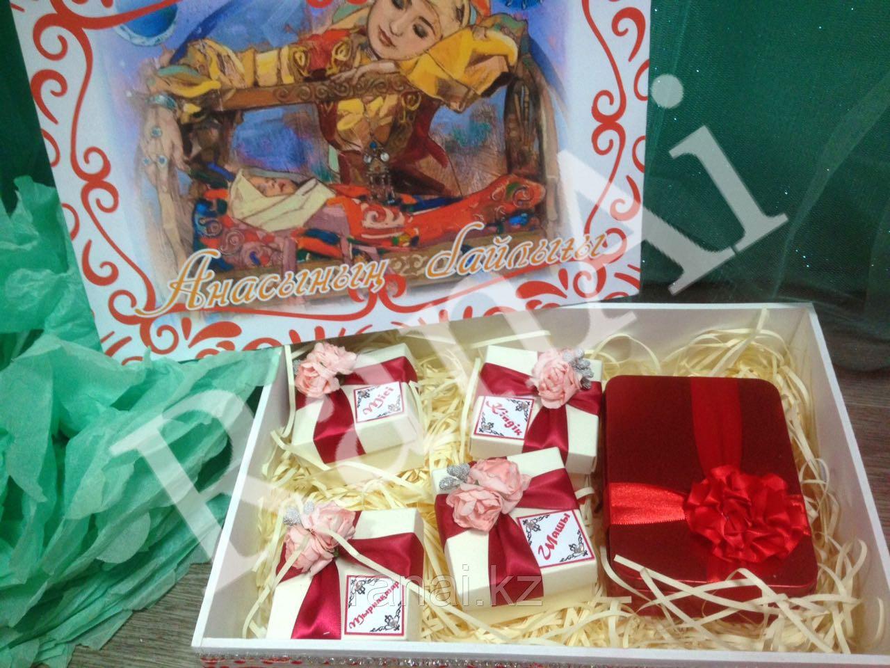 Набор коробочек Мамины сокровища,Анасының байлығы - фото 2