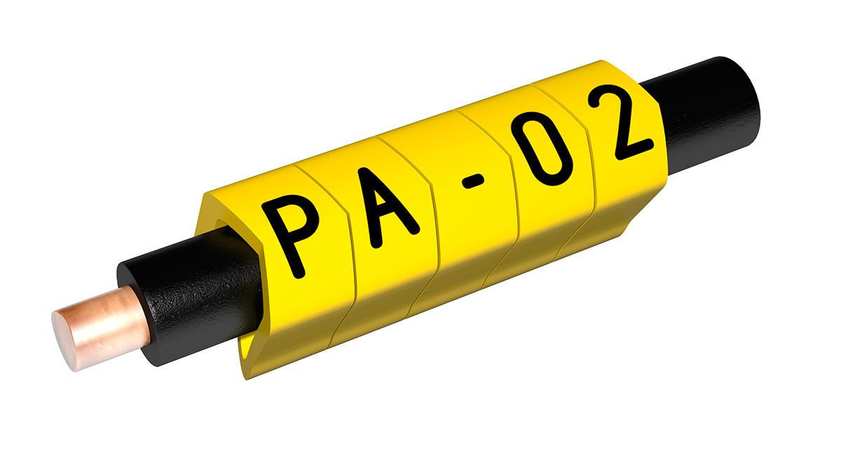 """Маркировка для провода PARTEX PA 02, размер 0,2-1,5мм2 """"3"""""""