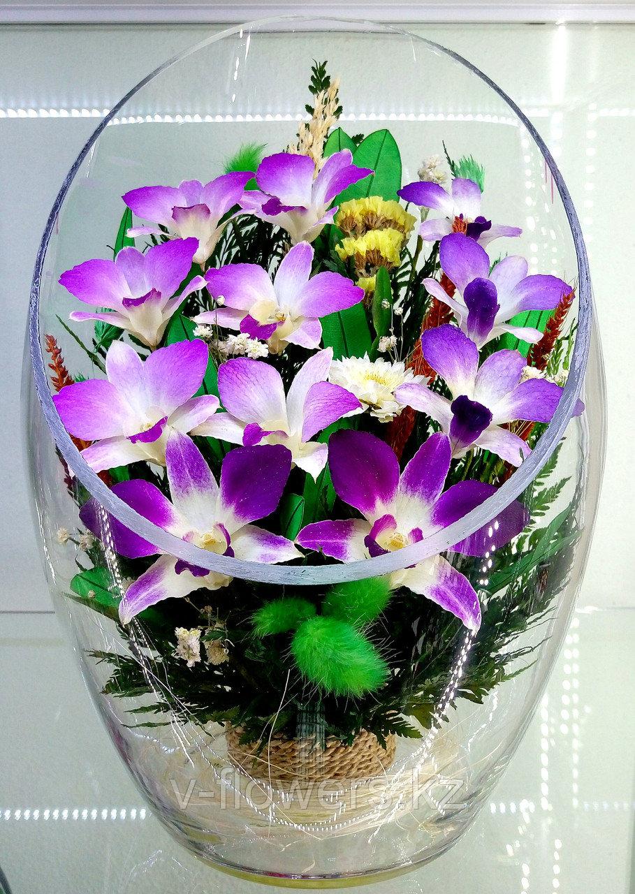 Цветы в колбе ArLO