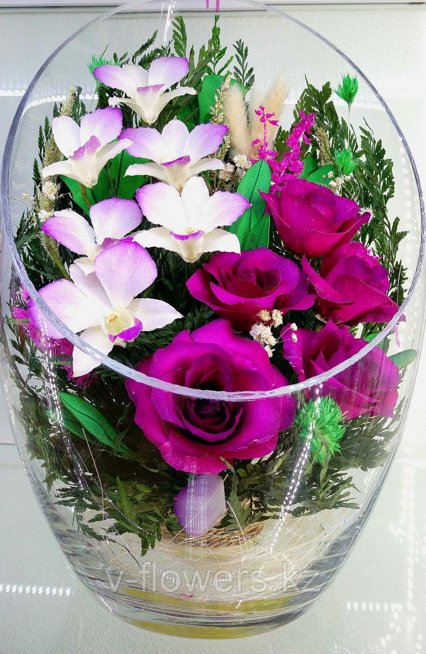 Цветы в колбе ArLM3