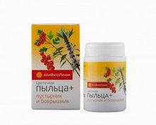 Апифитокомплекс Цветочная пыльца+пустырник и боярышник, для сердечно-сосудистой и центр.нервной системы, 60таб