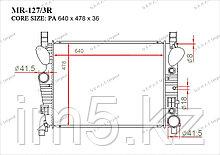 Радиатор  Mercedes CL-Класс. W215 1999-2006 5.0i / 5.5i / 6.0i / 6.5i Бензин