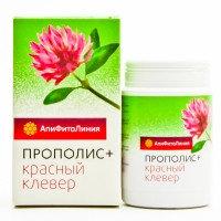 Апифитокомплекс Прополис+Красный Клевер, профилактика атеросклероза,  60таб