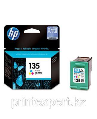 Картридж струйный HP №135 Tri-color
