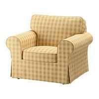 Кресло ЭКТОРП Скафтарп желтый ИКЕА, IKEA, фото 1
