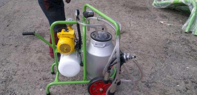 Доильный аппарат 1 пульсатор 1 бидон (Турция), фото 2