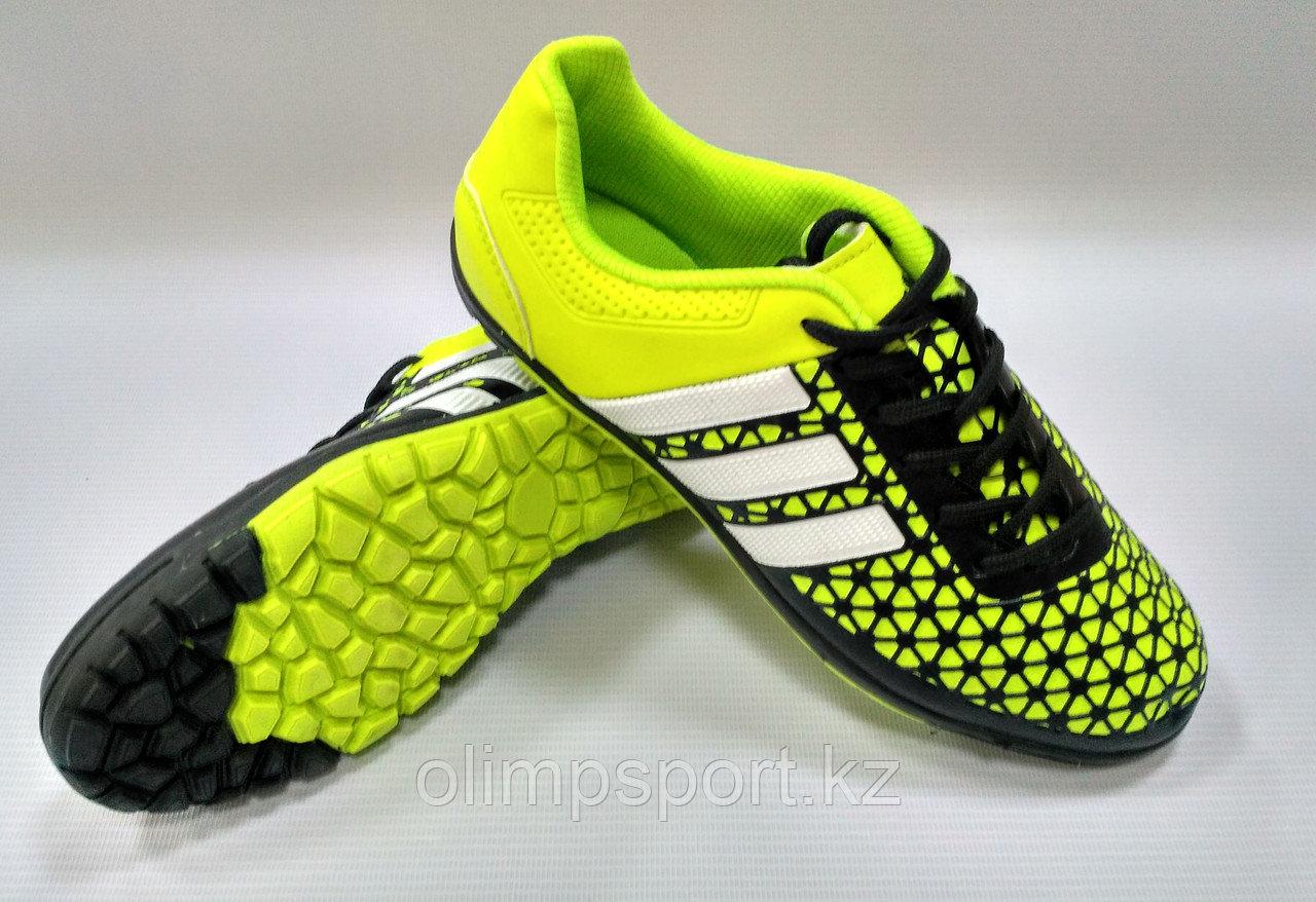 Обувь футбольная, детские сороконожки Adidas Ace, размеры 33-38
