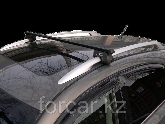 """Багажная система """"LUX РЧ"""" с дугами 1,2м прямоугольными в пластике для а/м с рейлингами, фото 2"""