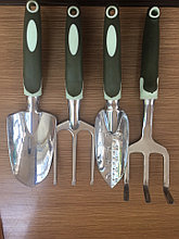 Лопатки садовые (большая 0634 А,маленькая 0634В,грабли 0634 С,вилка 0634D)