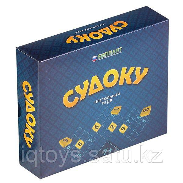 Настольная игра БИПЛАНТ 10004 Судоку