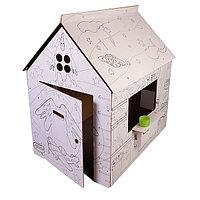 """Картонный домик-раскраска """"Классика"""", фото 1"""