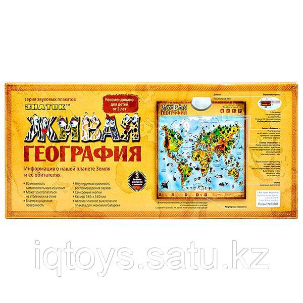 Живая география, Знаток (говорящий электронный плакат)