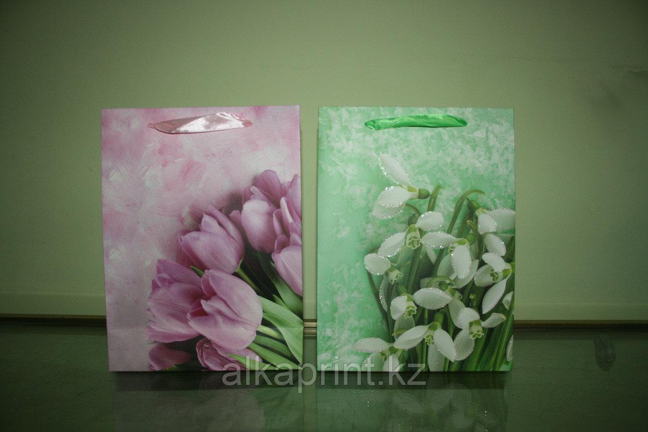 Пакеты бумажные подарочные в Алматы