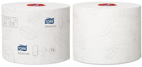 Tork туалетная бумага Mid-size в миди рулонах 127530/1, фото 2
