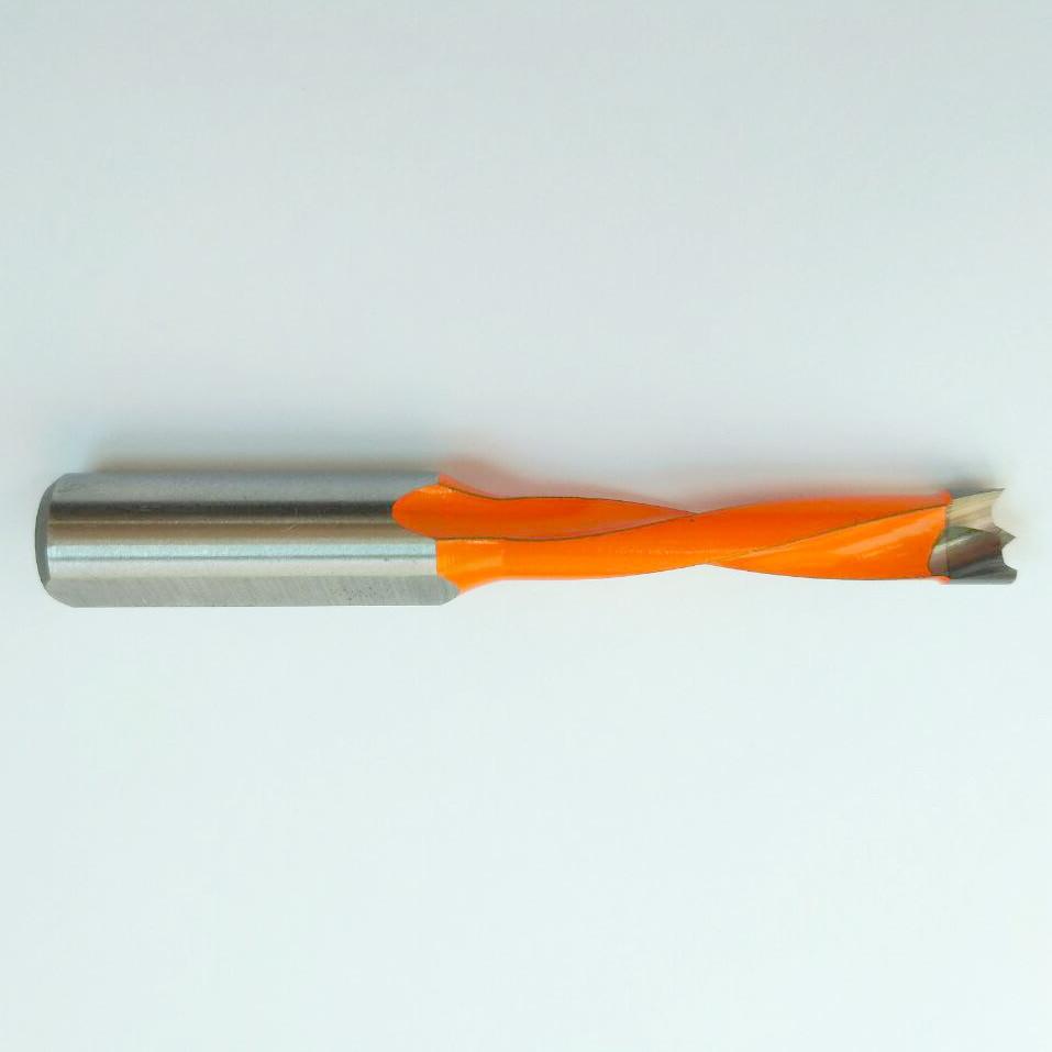 Сверло 7х70 мм для глухих отверстий, специальное для сверлильно-присадочных станков  по ЛДСП, МДФ, дереву