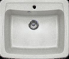 Кухонная мойка из искусственного камня Gran-Stone GS-03  (603х515 мм)