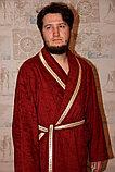 Махровый мужской домашний халат. Россия , фото 3