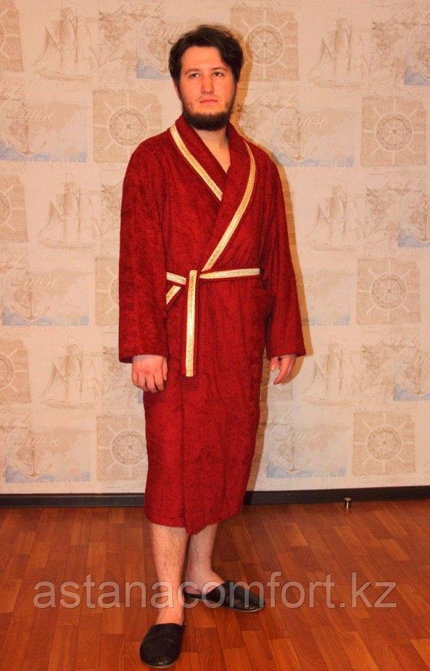 Махровый мужской домашний халат. Россия