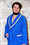 Махровый мужской халат для дома. Россия, фото 2