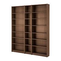 Стеллаж БИЛЛИ коричневый ясеневый шпон ИКЕА, IKEA