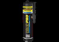 Клей монтажный STAYER Professional BlackPRO WATERPROOF, влагостойкий, 280мл