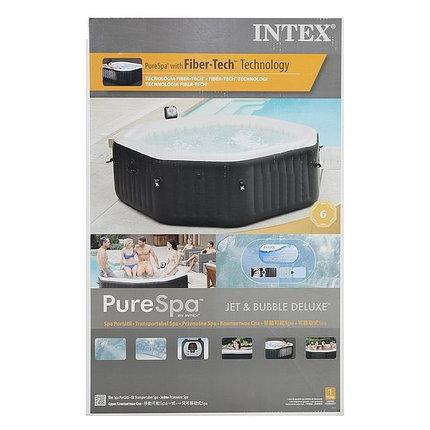 SPA Бассейн надувной Intex Jet and Bubble Massage, диаметр 168 см, фото 2