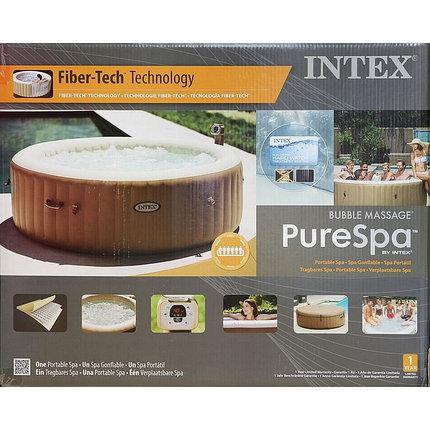 SPA Бассейн надувной Intex Bubble Massage, диаметр 165 см, фото 2