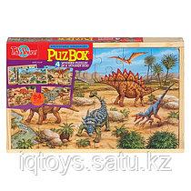 """Набор деревянных пазлов T.S.Shure PuzBox """"Динозавры"""""""