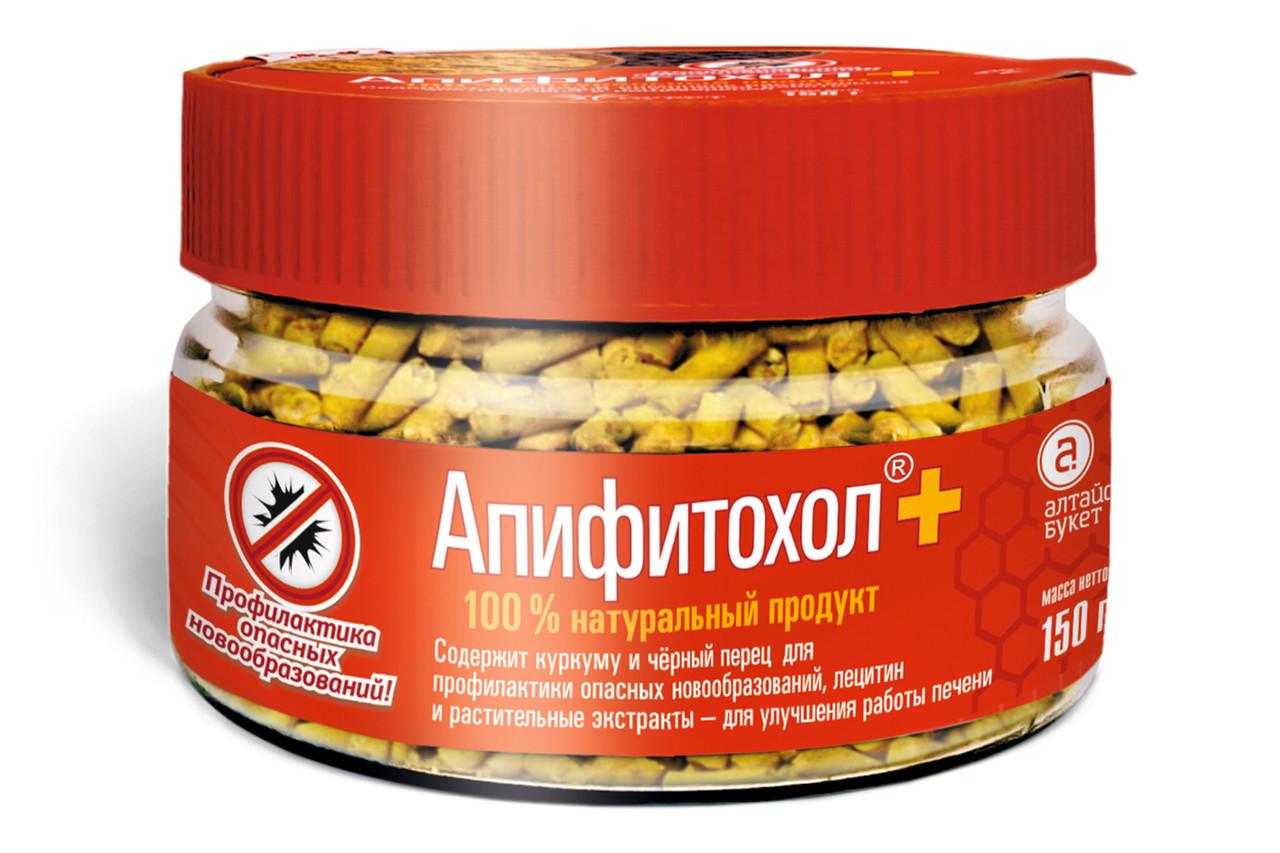 Апифитохол, Инновационный продукт питания для усиленной защиты печени, 150гр