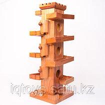 Деревянная башня с шариками Ball Tower