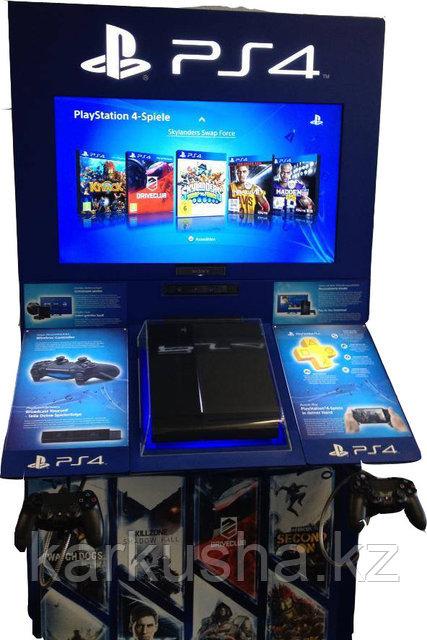 """Игровой автомат PlayStation4 + 4 игры 42"""" Максимум"""