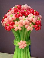Букет цветов из шаров на 8-е марта в Павлодаре