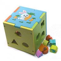 Игрушка Сортер-Куб «Логика»