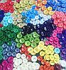 Пуговицы разноцветные-сэт-15 цветов