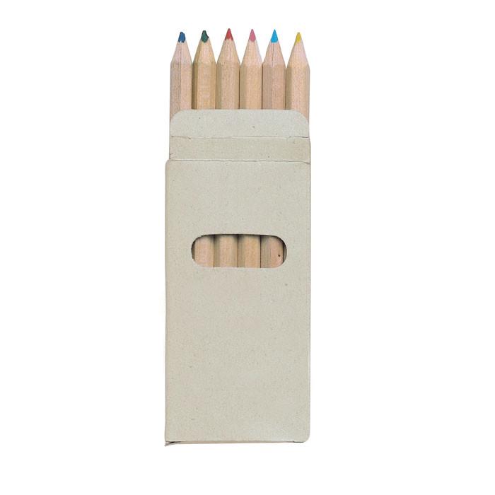 Набор из 6 цветных карандашей