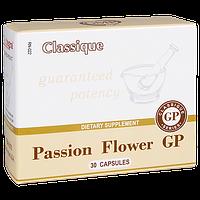 Passion Flower GP, Страстоцвет, Пассифлора, цветок спокойствия, экстракт 300 мг, 30 капсул.