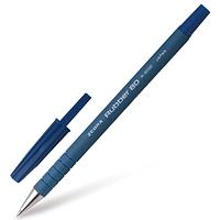 Ручка шариковая ZEBRA RUBBER 80 0.7 мм синяя